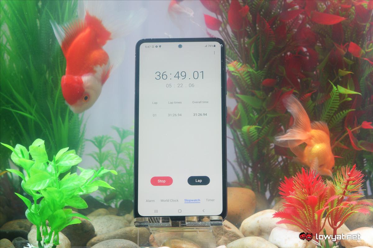 Samsung Galaxy Serie A A72 A52 A32