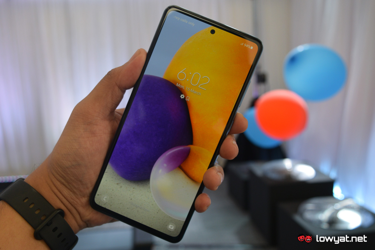 Samsung Galaxy Serie A A72 A52 A32 3