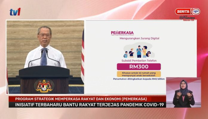 B40 Telco Credit Postponed To May 2021, Higher Amount For Household With Children