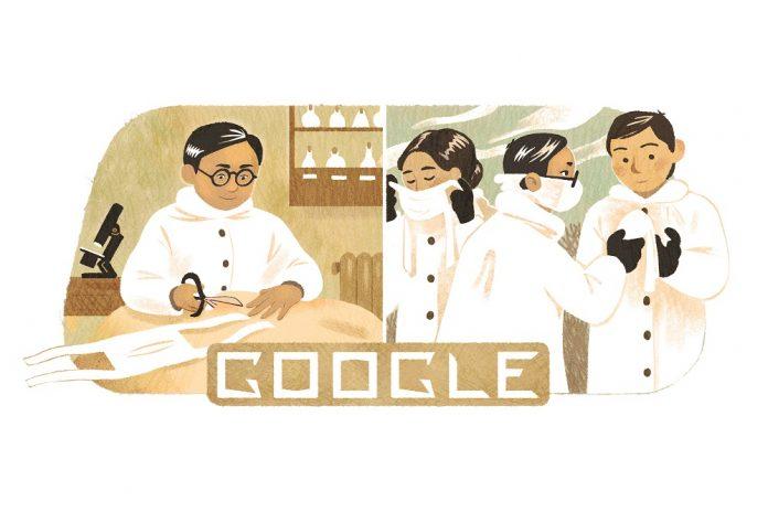 Google Doodle Dr Wu Lian-Teh