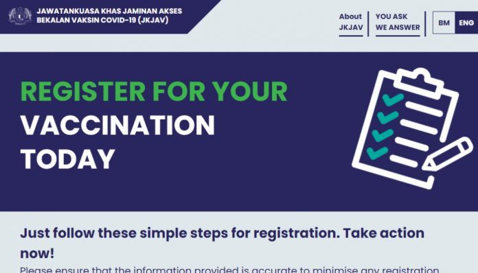 You Can Also Now Register For COVID-19 Vaccine Through JKJAV's Website and Hotline
