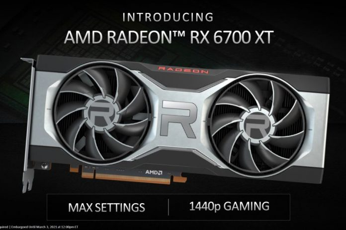AMD Radeon RX 6700XT Now Official; Available Starting 18 March
