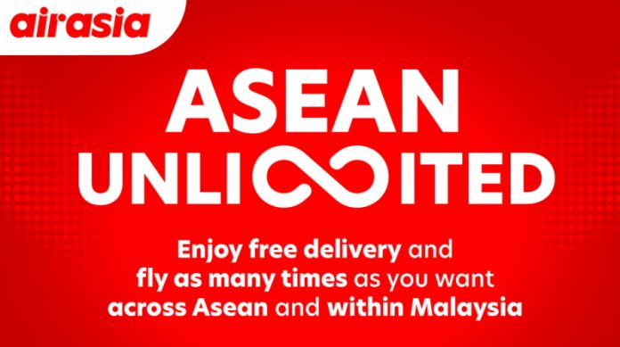 AirAsia Launches ASEAN Unlimited Flight Pass For RM 599; Valid Until March 2022