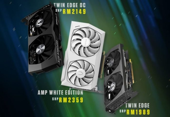 Zotac GeForce RTX 3060 Series Cards Now Available In Malaysia; Starts From RM1989