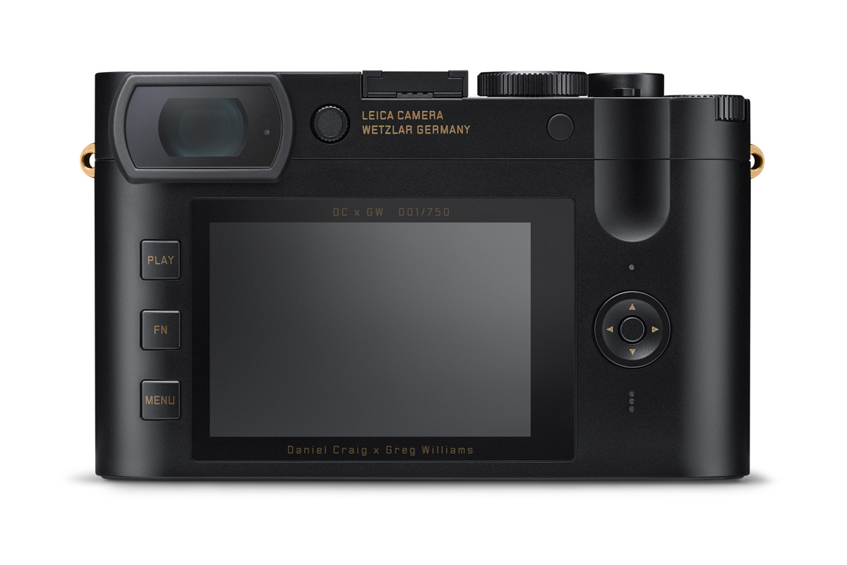 Leica Q2 Daniel Craig x Greg Williams Edición limitada Malasia