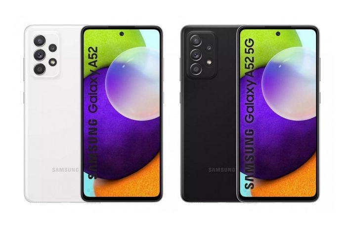 Samsung Galaxy A52 Leaks