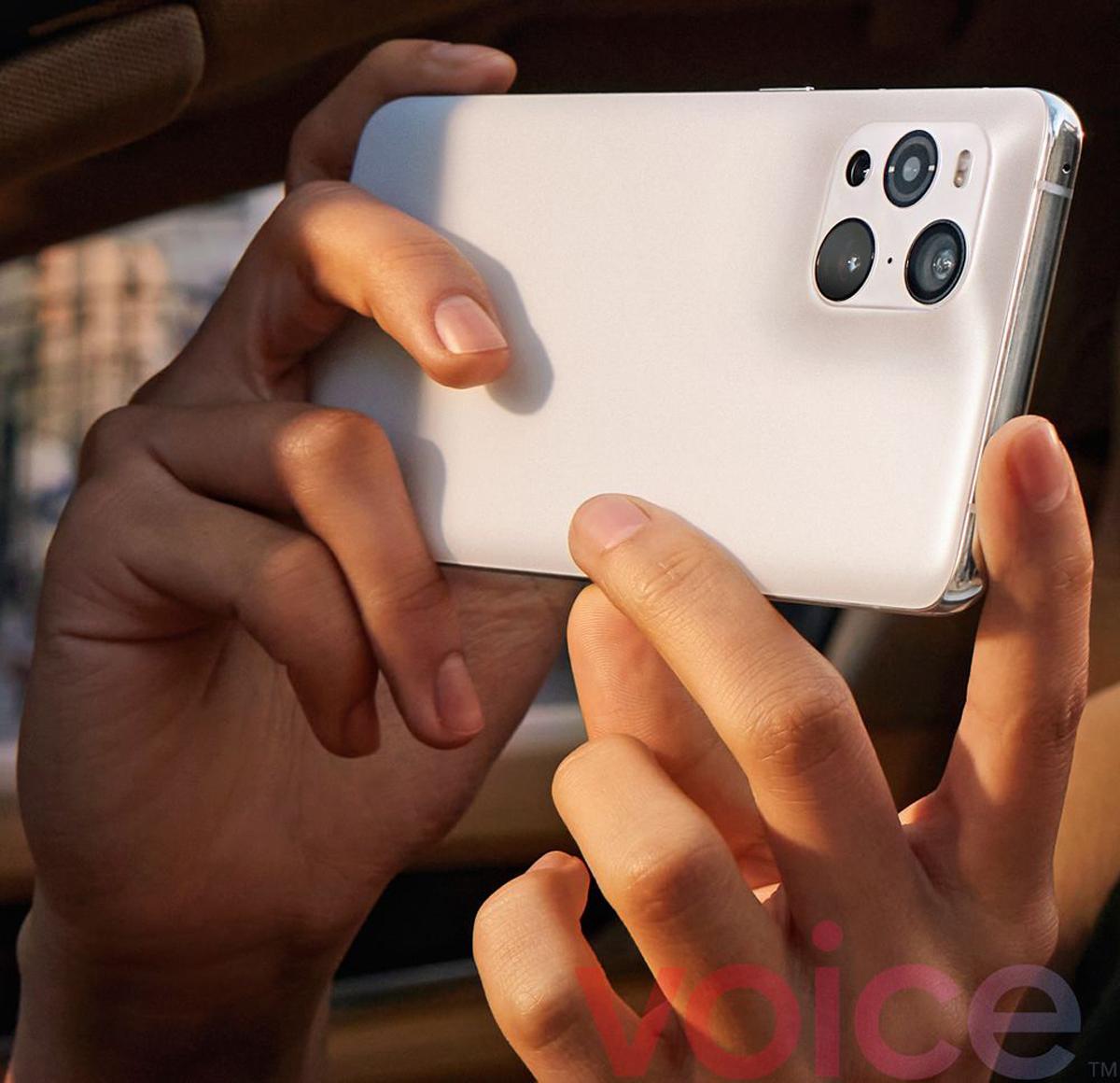 Fugas de imágenes promocionales de OPPO Find X3 Three Models
