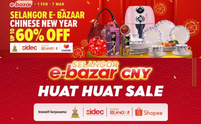 Selangor Kicks Off Another E-Bazar For Chinese New Year On Lazada and Shopee