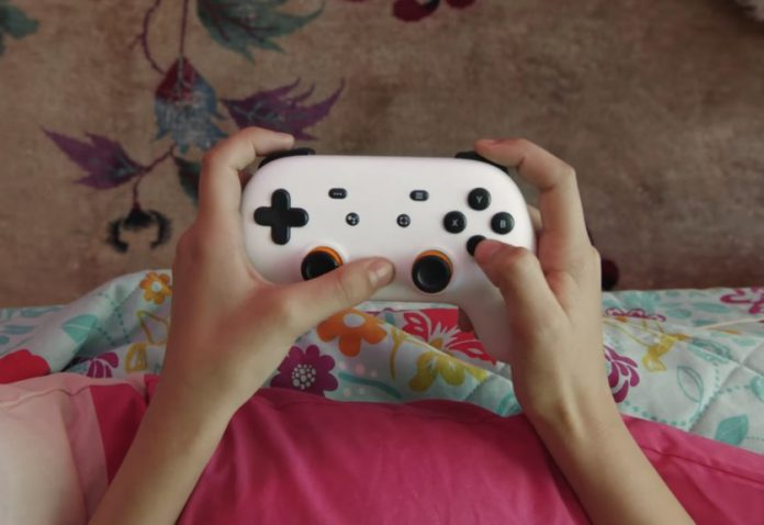 Google Stadia Controller: Provides Direct Connection to The Service via Wi-Fi