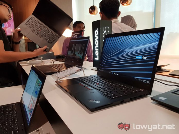 The 2018 Lenovo ThinkPad Laptops Are Now Officially Available in Malaysia