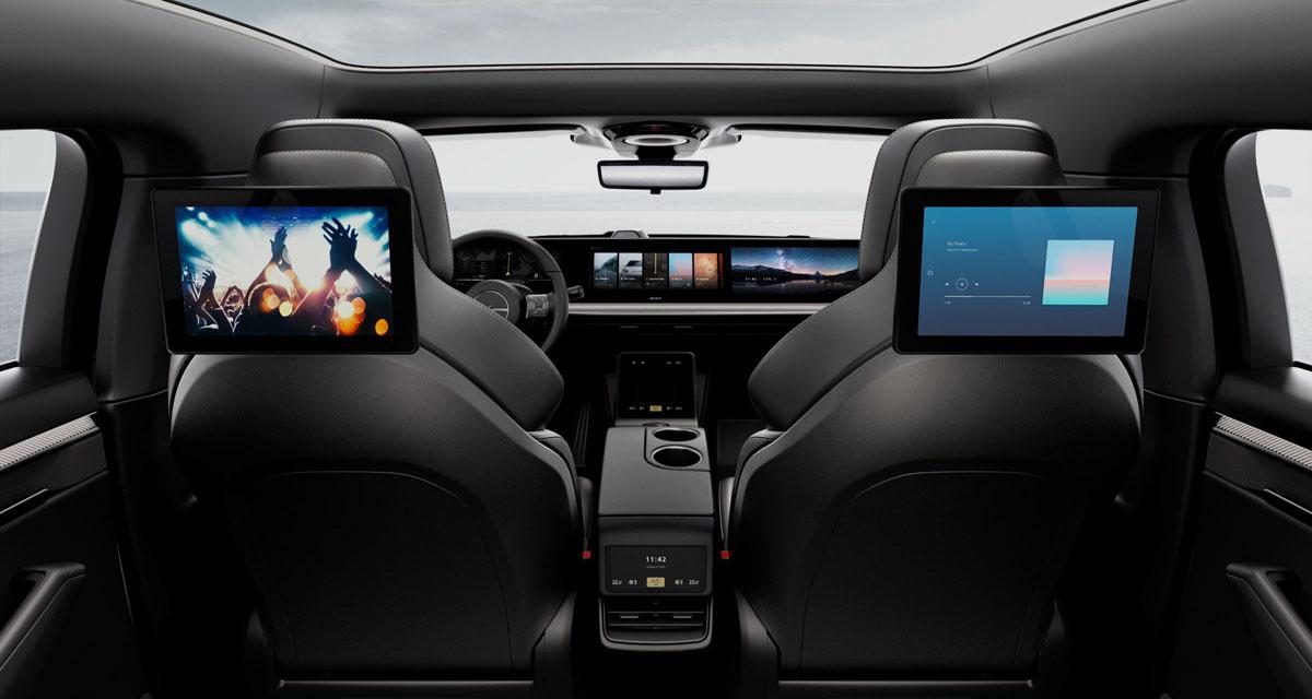 Sony publica nuevos detalles de su concept car Vision-S