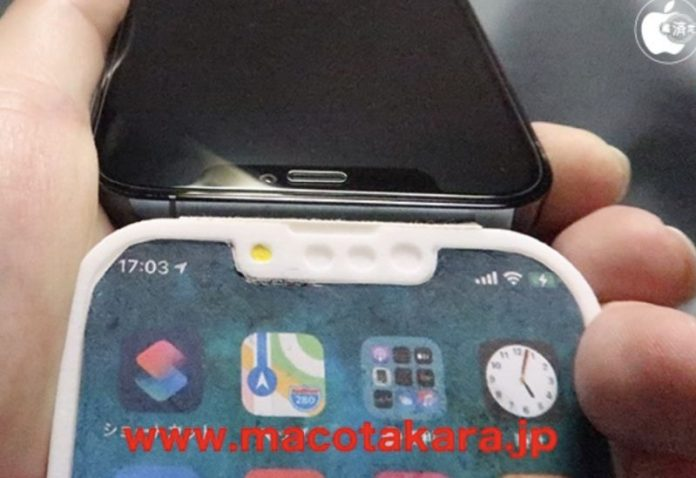 Alleged Apple iPhone 13 Pro Dummy Unit Appears; Houses Redesigned Notch, Selfie Camera