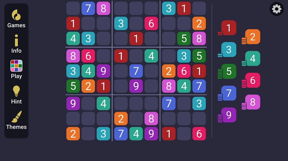 Sudoku de Apple Arcade