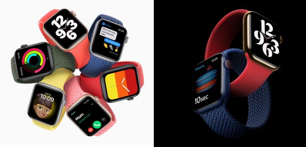 Apple Watch SE y Serie 6