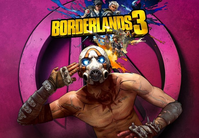 Borderlands 3 key art Gearbox