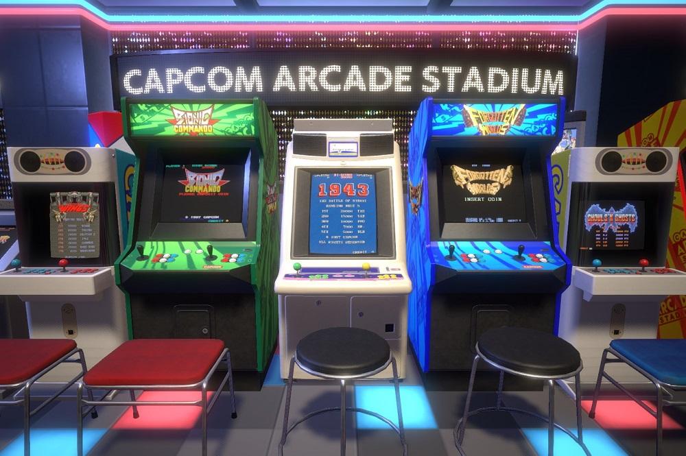 Estadio de arcade de Capcom