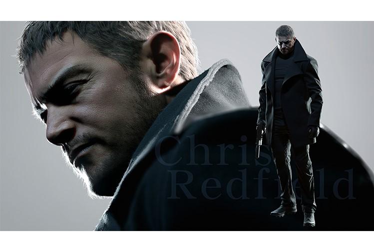 Chris Redfield Resident Evil Village