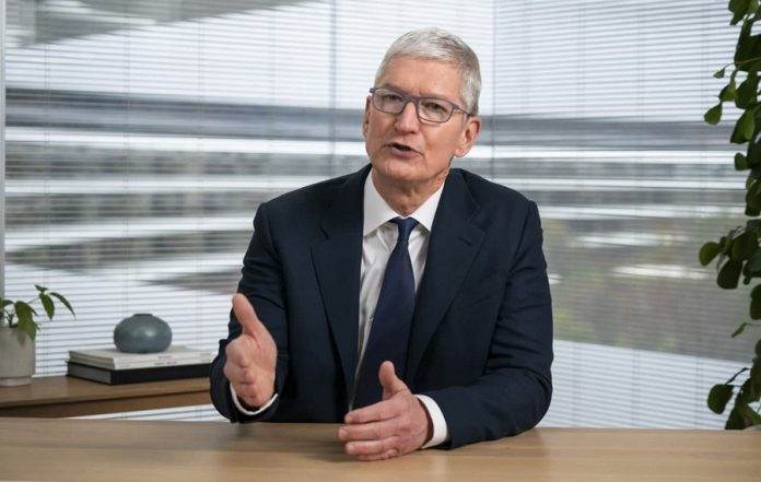 Apple CEO Tim Cook Skewers Facebook Over Misinformation And Data Privacy