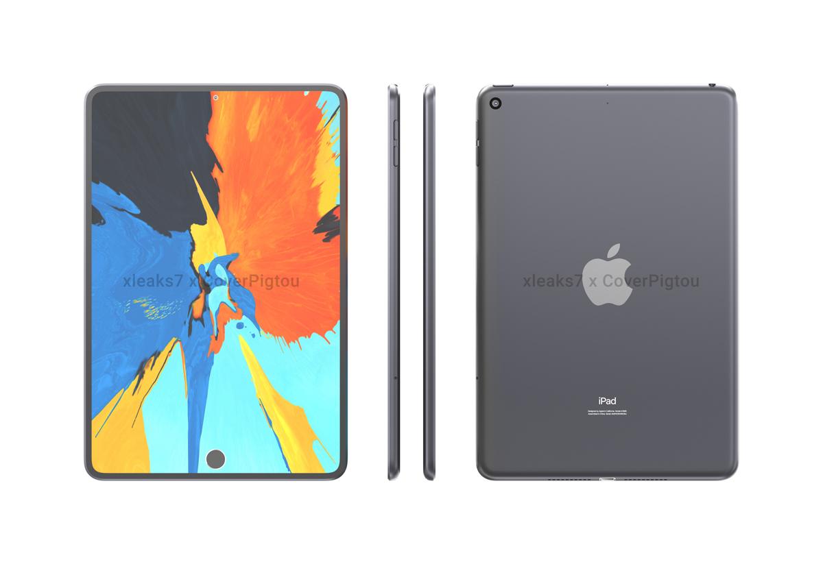 Apple iPad mini 6 gotean perforaciones dobles en pantalla