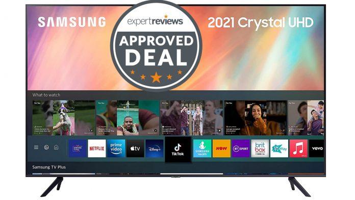 El televisor Samsung 2021 AU7110 ahora es más barato que nunca en Amazon