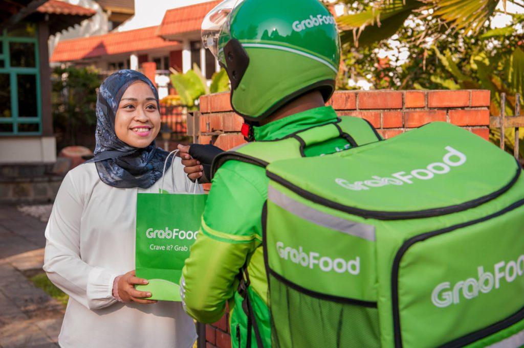 Grab GrabFood GrabMart Servicio de entrega de patios de comida