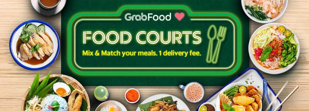 Grab lanza Food Courts GrabFood Pasar GrabMart se expande