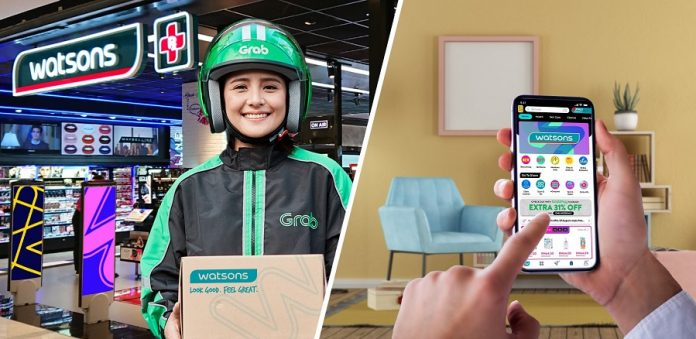 Grab And Watsons Enter Into Partnership That Spans Several Southeast Asian Countries