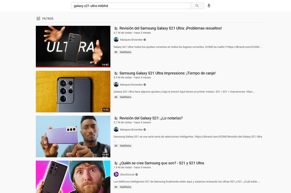 YouTube traducir al portugués