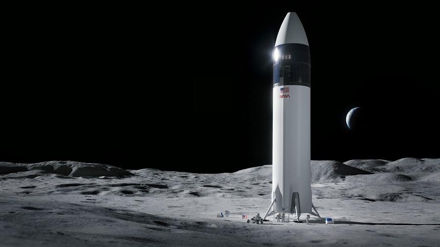 Módulo de aterrizaje lunar Spacex de la NASA