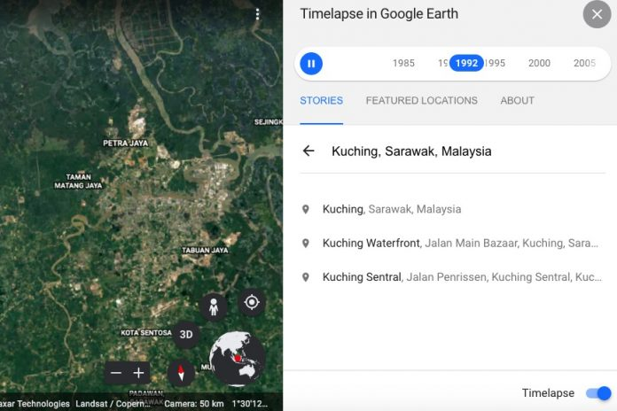Google Earth's New Timelapse Feature Allows You To Watch As Malaysian Cities Grow, Change