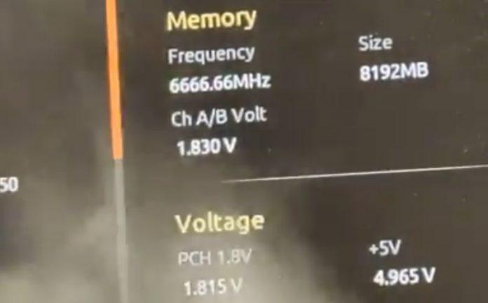 Alleged Intel Rocket Lake-S CPU Hit Up To 6.9GHz With Liquid Nitrogen