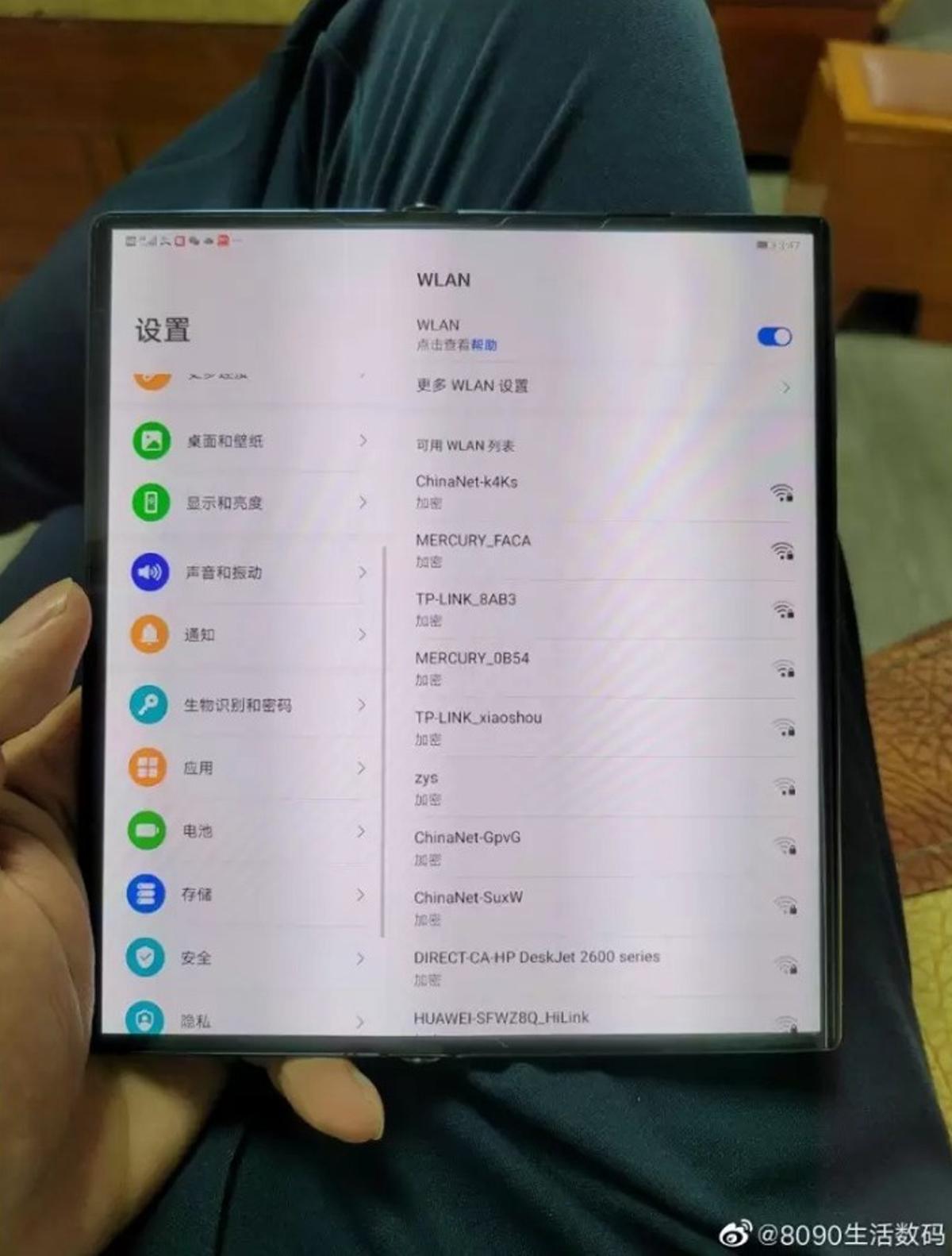 Lanzamiento de Huawei Mate X2 en China en febrero