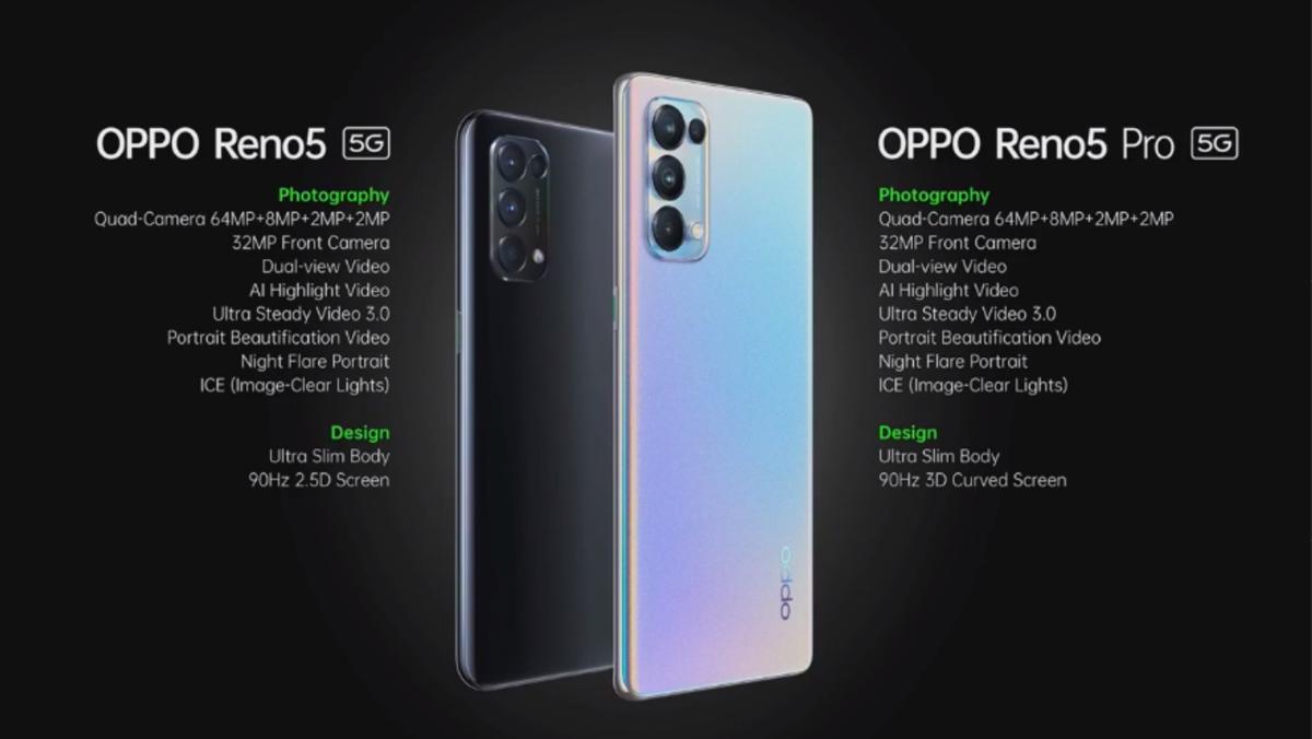 Precio de lanzamiento de OPPO Reno5 Malasia