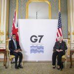 Las naciones del G7 acuerdan una tasa impositiva corporativa mínima en medio de una disputa sobre los impuestos digitales