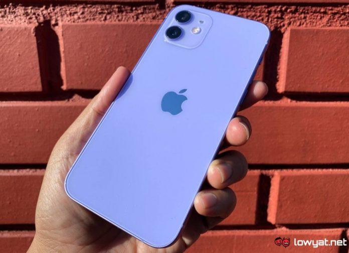 Purple iPhone 12