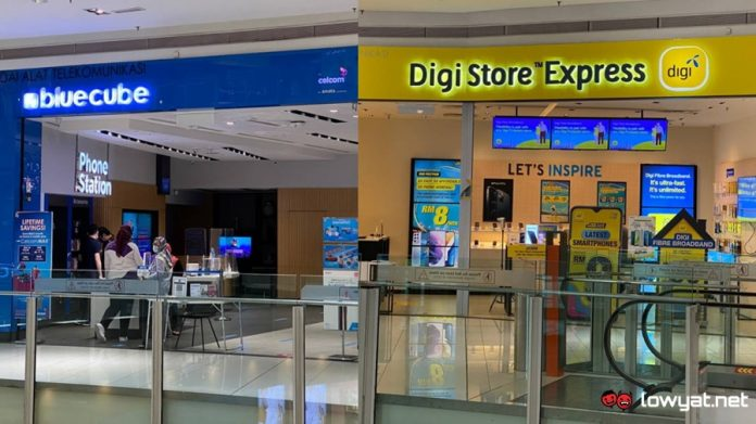Celcom and Digi To Merge Into A Single Company; Will Continue As Different Brands