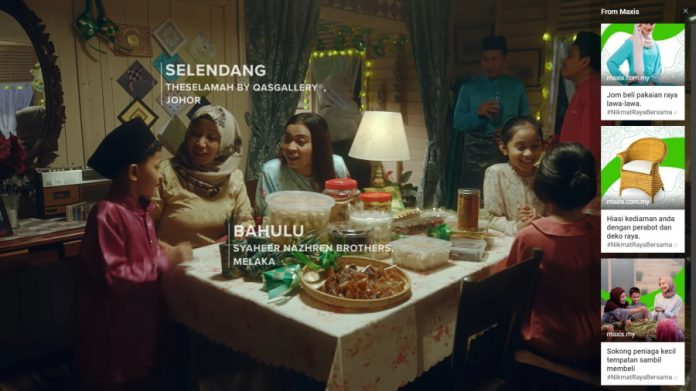 Maxis Releases 'Shoppable' Raya Ad To Encourage Support For SMEs