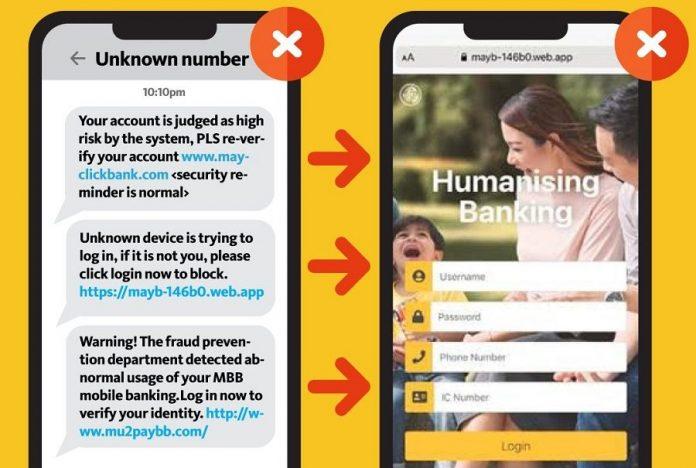 Maybank Warns Against Fake Maybank2u Websites Phishing For Customer Details