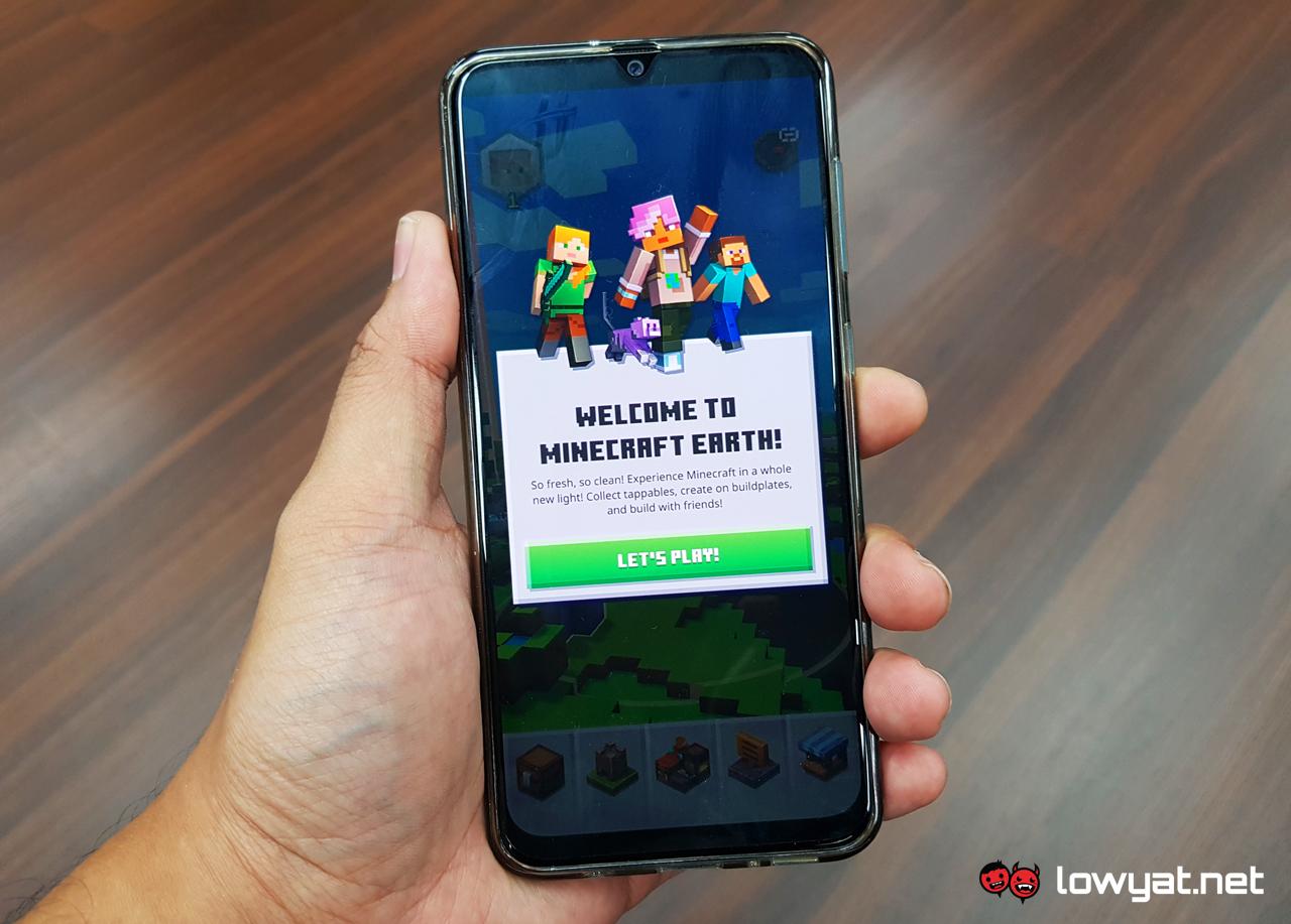 Minecraft Tierra Mojang