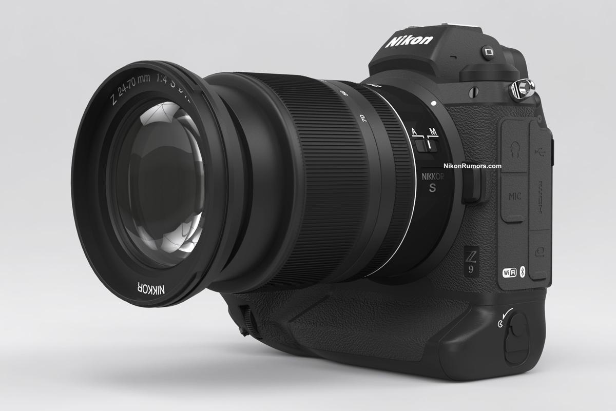Desarrollo de cámara sin espejo de fotograma completo insignia Nikon Z9