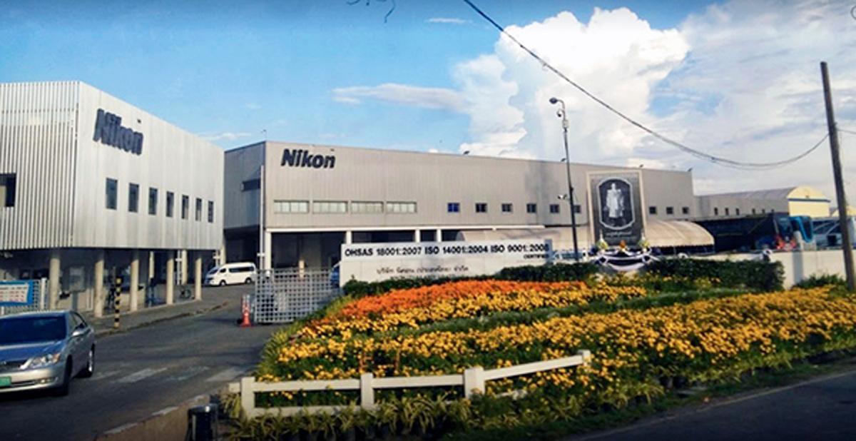 Lente cerrada de Nikon Fábricas Declive del mercado de la cámara de Japón