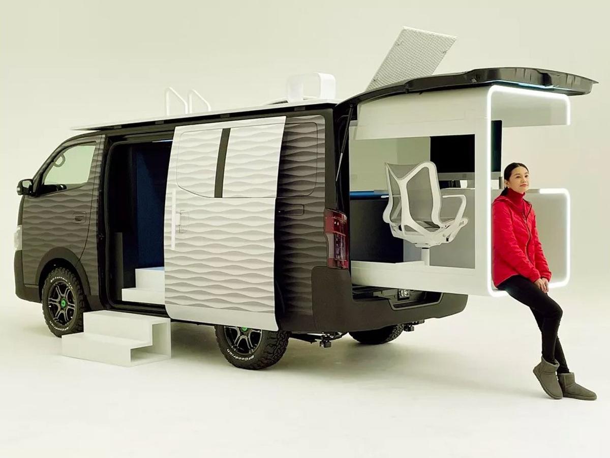 Vehículo conceptual Nissan NV350 Office Pod
