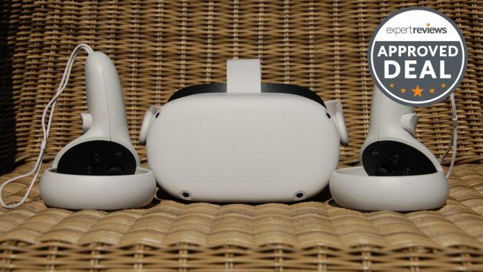 Obtén el increíble visor de realidad virtual Oculus Quest 2 por £ 294