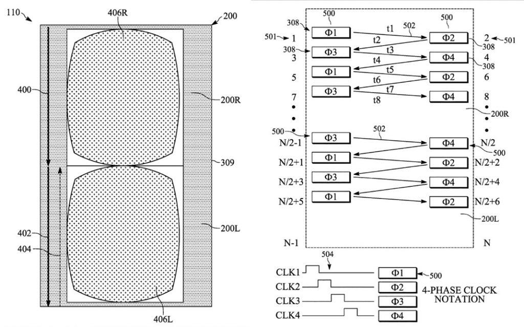 Combinación de patentes 3D de Apple