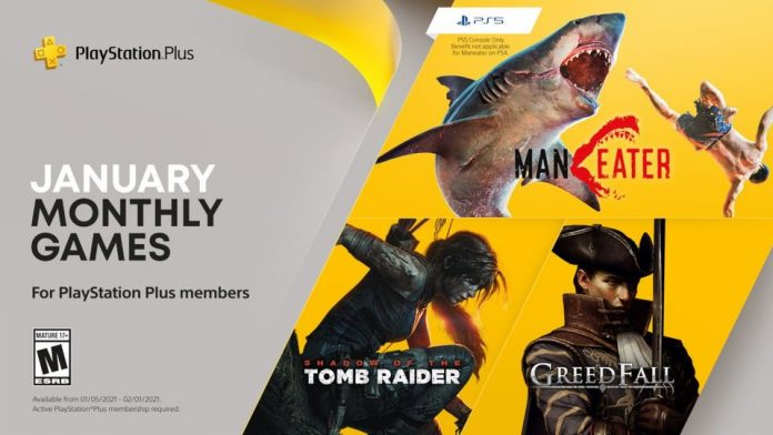 PS Plus free games January 2021