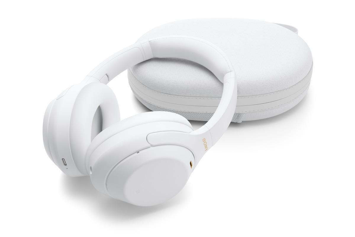 Sony WH-1000XM4 Silent White edición limitada