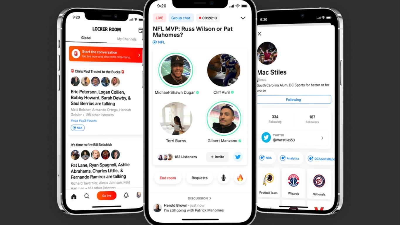 Clones de Spotify LinkedIn Clubhouse