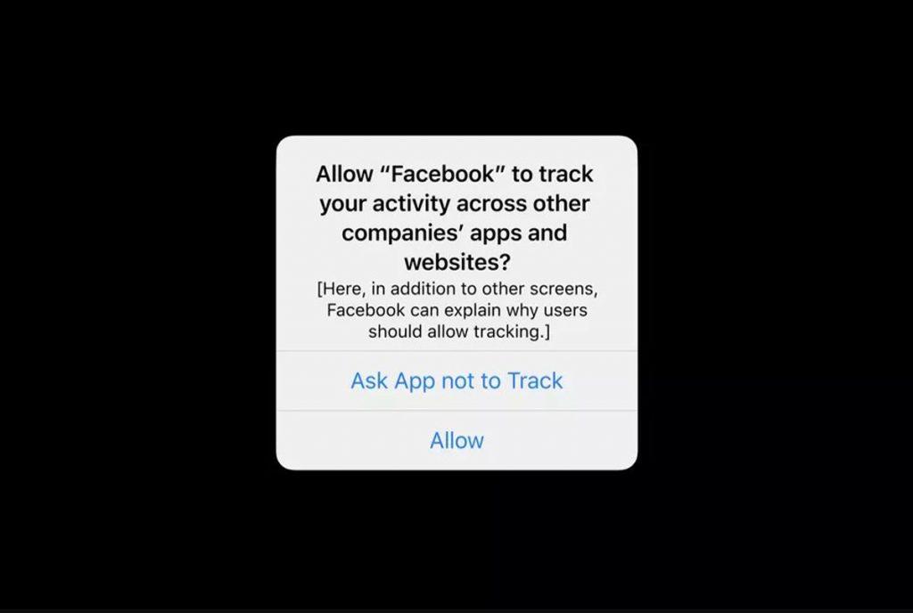 Cambios en la privacidad de Facebook Apple iOS 14 Anuncios de periódicos