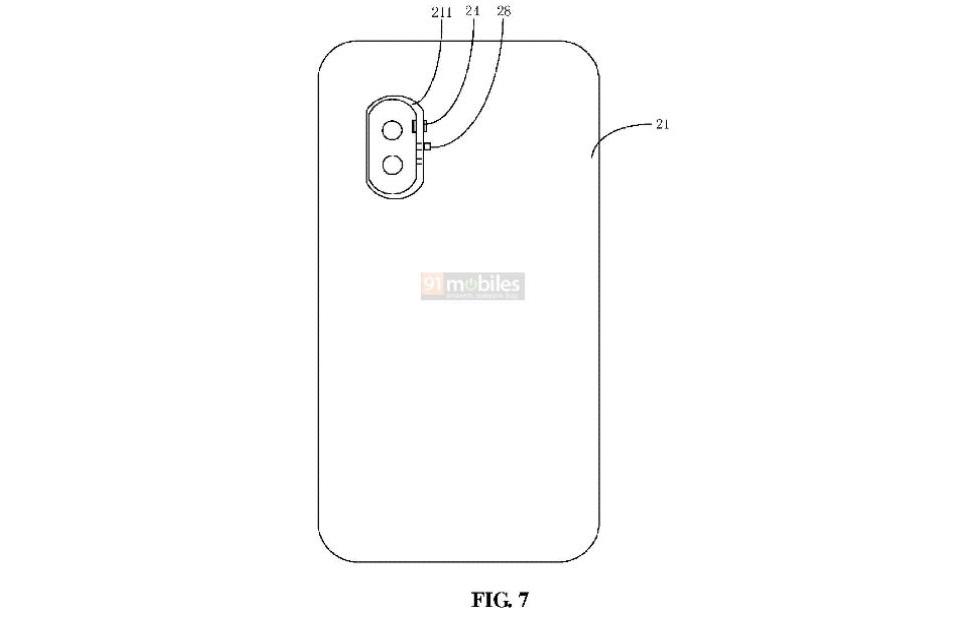 Cámara desmontable de patente Xiaomi 2