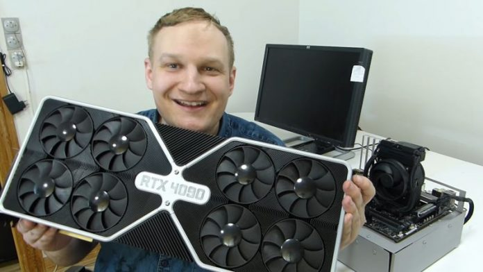 YouTuber Shows Off NVIDIA GeForce RTX 4090 Series Graphics Cards In April Fools' Video
